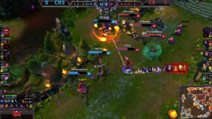 C9 vs CRS Game 2 crucial moment
