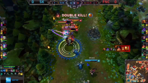 FNC vs SK screen shot Game 1
