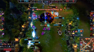 FNC vs SK screen shot Game 2