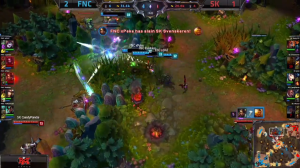 FNC vs SK screen shot Game 4