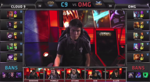 C9 vs OMG picks and bans