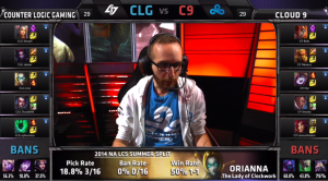 CLG vs C9 Champion select