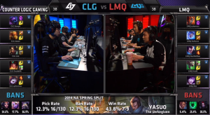 CLG vs LMQ Champion Select