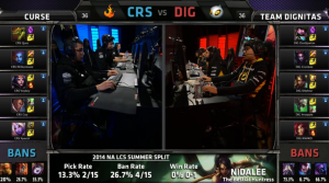 CRS vs DIG Champion select
