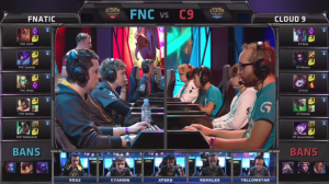 FNC versus C9 All-Star picks and bans