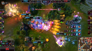 FNC vs CW important moment