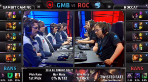 GMB vs ROC champion select