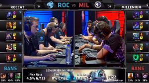 ROC vs MIL champion select