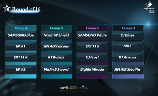 OGN Summer Group Stage